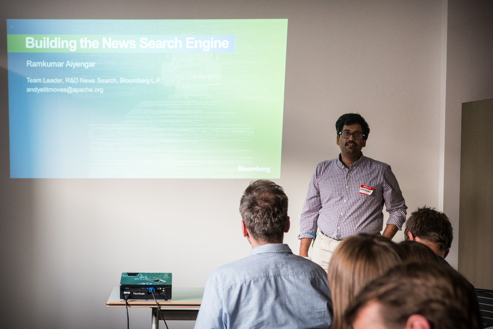 Building a real-time news search engine, Ramkumar Aiyengar